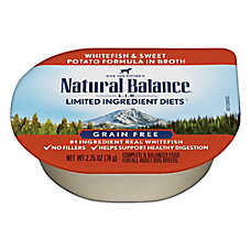 Natural Balance Limited Ingredient Diet Adult Dog Food - Grain Free, White Fish & Sweet Potato