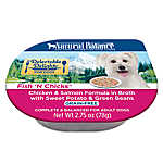 Natural Balance Delectable Delights Adult Dog Food - Grain Free, Fish 'N Chicks