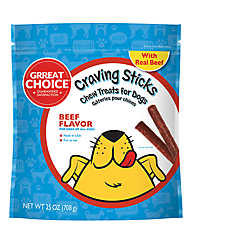 Grreat Choice® Craving Sticks Dog Treat - Beef