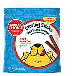 Grreat Choice® Craving Sticks Dog Treat - Beef