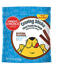 Grreat Choice® Craving Sticks Dog Treat - Bacon
