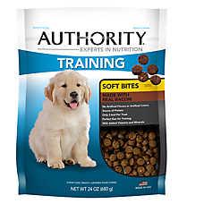 Authority® Training Soft Bites Dog Treat - Bacon