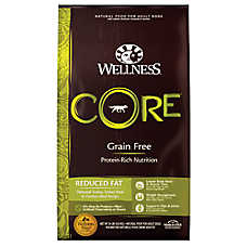Wellness® CORE® Reduced Fat Adult Dog Food - Natural, Grain Free