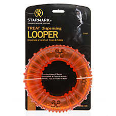 Starmark Treat Dispensing Looper Dog Toy