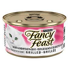 Fancy Feast® Grilled Cat Food - Salmon & Shrimp Feast