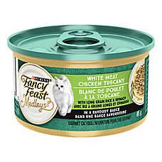 Fancy Feast® Medley's Cat Food - White Meat Chicken Tuscany