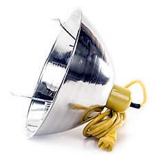 Happy Hen Treats Chicken Single Lamp Infra Red Brooder Reflector