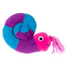 Top Paw® Snail Plush Dog Toy