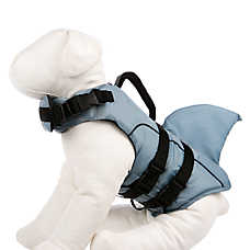 Top Paw® Dolphin Fin Dog Life Jacket