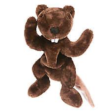 Top Paw® Flattie Beaver Dog Toy
