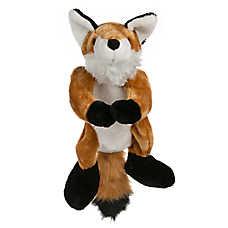 Top Paw® Flattie Fox Dog Toy