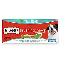 Milk-Bone® Brushing Chews® Dental Dog Treat - Small/Medium