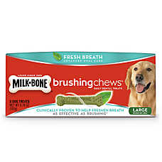 Milk-Bone® Brushing Chews® Dental Dog Treat - Large