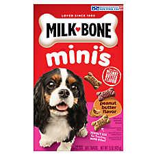 Milk-Bone® Mini's Dog Treat - Variety Pack, Peanut Butter