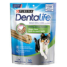 Purina® DentaLife Dental Dog Treat - Small/Medium Breed