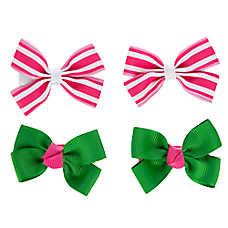 Grreat Choice™ Stripe & Solid Hair Bows