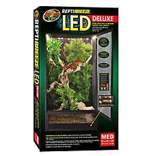 Zoo Med™ReptiBreeze® LED Reptile Habitat