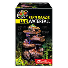 Zoo Med™ Repti Rapids® LED Reptile Waterfall Rock