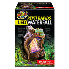 Zoo Med™ Repti Rapids® LED Reptile Waterfall Wood