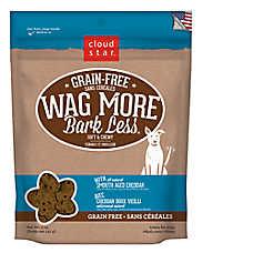 Cloud Star® Wag More Bark Less® Dog Treat - Grain Free, Cheddar