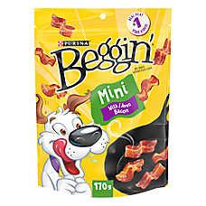 Beggin' Strips® Mini Dog Treat - Bacon