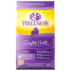 Wellness® Complete Health Adult Dog Food - Natural