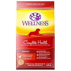 Wellness® Complete Health Senior Dog Food - Natural, Chicken & Barley