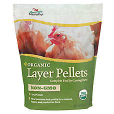 Manna Pro Chicken Organic Layer Pellets