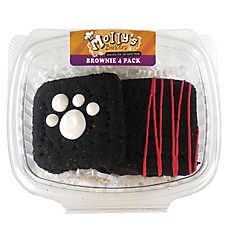 Molly's Barkery Brownie Dog Treat - Natural