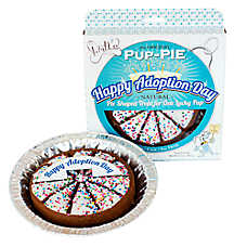 The Lazy Dog Cookie Company Pup-Pie Dog Treat - Happy Adoption Day