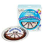 The Lazy Dog Cookie Co. Pup-Pie Dog Treat - Happy Birthday