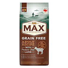 NUTRO® MAX® Grain Free Adult Dog Food- Natural, Lamb
