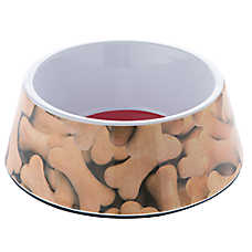 "Top Paw® ""Feed Me"" Dog Bowl"