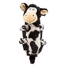 KONG® Barnyard Knots Cow Dog Toy