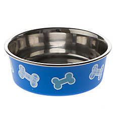 Top Paw® Bella Bone Dog Bowl