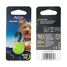 Nite Ize PetLit LED Paw Collar Light