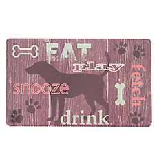 Grreat Choice® Rustic Eat Pet Mat