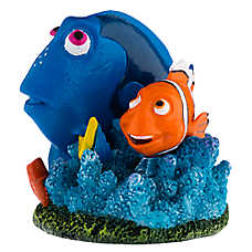 Finding Dory Marlin & Dory Coral Aquarium Ornament