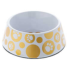 Top Paw® Glitz Paws Dog Bowl