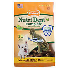 Nylabone® Nutri Dent Complete Small Dog Dental Chew - Chicken