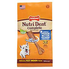 Nylabone® Nutri Dent Complete Mini Dog Dental Chew - Filet Mignon