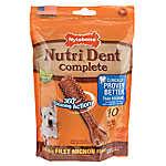 Nylabone® Nutri Dent Complete Small Dog Dental Chew - Filet Mignon