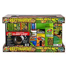 Zoo Med™ 10 Gallon Reptihabitat Tropical Kit