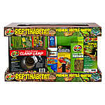 Zoo Med™ 10 Gallon Reptihabitat Tropical Kit