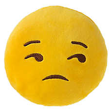 Grreat Choice™ Unamused Emotions Plush Dog Toy