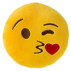 Grreat Choice™ Kissing Emotions Plush Dog Toy