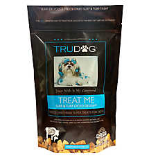TruDog Treat Me Dog Treat - Freeze Dried, Raw, Natural, Surf & Turf