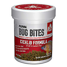 Nutrafin® Bug Bites Cichlid Fish Food