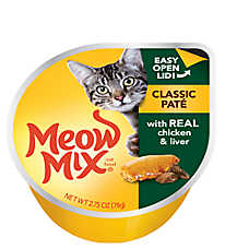 Meow Mix® Classic Pate Cat Food - Chicken & Liver