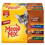 Meow Mix® Classic Pate - Variety Pack, 24ct